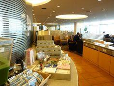 ANA lounge, Haneda (Tokyo) Japan