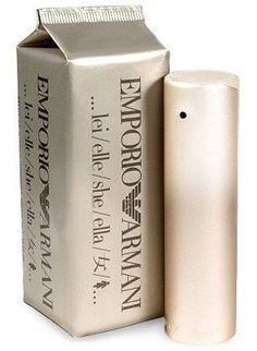 Emporio Armani She es un perfume para mujer del diseñador italiano Giorgio Armani.  Esta fragancia fue creada por la perfumista Sophie Labbe y lanzada al mercado en 1998.  Emporio Armani She es un perfume oriental.  El perfume Emporio Armani She es una fragancia femenina, sensual y tierna. Las notas aromáticas altas de este perfume están compuestas por toques de ananá, lima, nardo, mandarina, pera y bergamota.
