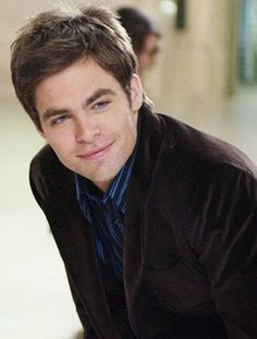 :D Chris Pine... you can't go wrong with those blue eyes. princess diaries