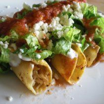 Receta de Tacos Dorados