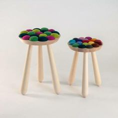 Fun and gorgeous stools
