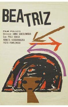 Beatrice, Poland, 1965. Poster by Eduardo Muñoz Bachs