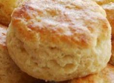 Recette : Biscuits chauds à la poudre à pâte.