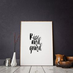 Motivational PosterInspirational QuoteWall by ParisStore on Etsy