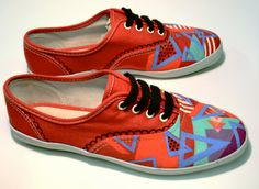 Cute Hand-painted shoes