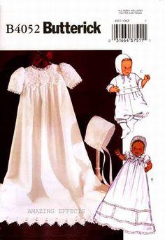 Créations - réalisations glyfa - Patron robe de bapteme