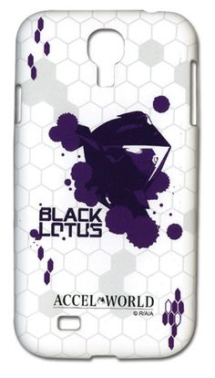 Accel World Samsung Case - Black Lotus Samsung S4 Case, Samsung Galaxy, Accel World, Kawaii, Primary Colors, Cell Phone Accessories, Lotus, Great Gifts, Anime