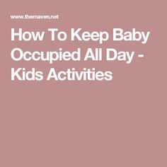 Come and learn some helpful tips on how to keep baby occupied all day long. Some days this is a challenge, to keep your baby engaged and out of trouble! Baby Sensory Board, Sensory Boards, Music Activities, Baby Activities, Treasure Basket, Messy Play, Baby Necessities, Baby Play, Helpful Tips