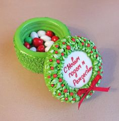Новый год Рождество Пряник имбирный пряничная шкатулка