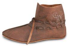 Wikinger Schuhe W-920 Mittelalter Schuhe