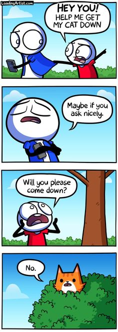 Funny Cartoon Memes, Funny Animal Jokes, Crazy Funny Memes, Really Funny Memes, Funny Relatable Memes, Funny Jokes, Life Comics, Fun Comics, Funny Images