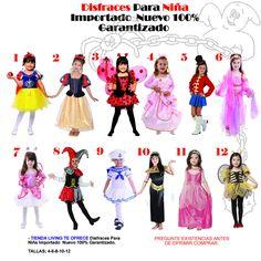 Disfraz Disfraces Para Niña Importado Nuevo Garantizado -   94.990 en  MercadoLibre ccdc632d704b