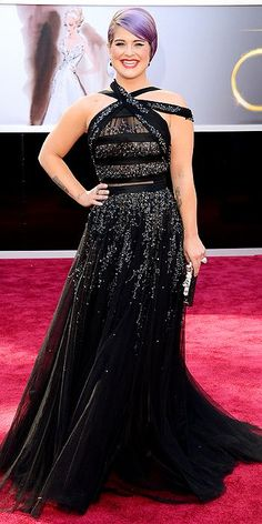 The Academy Awards 2013: Kelly Osbourne in Tony Ward