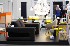 NOTI #sofa from BIBIK collection #design by #RenataKalarus for #home #sleeping #guests #LivingRoom #HotelRoom
