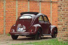 VW Beetle Ragtop Oval Window