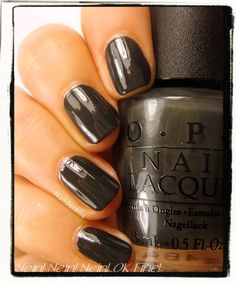 My toes are now:  OPI Germany - Nein! Nein! Nein! OK Fine! Maybe that is how I'm feeling about School starting again!