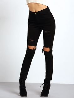 Waist(cm) :S:60cm,M:64cm,L:68cm Size Available :S,M,L Waist Type :Mid Waist Pant Length :Long Type :Trousers Pattern Type :Plain Color :Black Material :Cotton Blends Fit Type :Skinny Closure Type :But