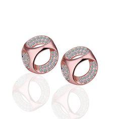 Elsa Rose Gold Plated Earring