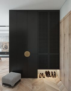 Interesting use of down-lights in a wardrobe. Put the ones you love in the spotlight 😍 The Effective Pictures We Offer You About entrance to homes A quality picture can tell you many things. Wardrobe Door Designs, Wardrobe Doors, Closet Designs, Home Interior, Interior Design, Flur Design, Cabinet Design, Cheap Home Decor, Home Decoration