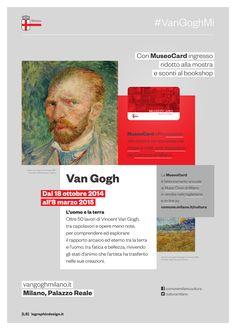 #vanGoghMi con #MuseoCard visiti la mostra a Palazzo Reale con ingresso ridotto www.vangoghmilano.it