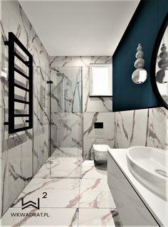 Łazienka gościnna w domku jednorodzinnym pod Toruniem @wkadrat @architekttorun Bathtub, Bathroom, Standing Bath, Washroom, Bathtubs, Bath Tube, Full Bath, Bath, Bathrooms