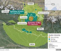 Nepal earthquake: Dozens die in new tremor near Everest