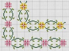 Borders - cross stitch