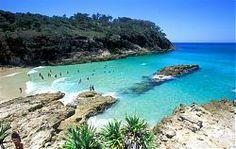 Stradbroke Island, Australia- One of my favorite places to visit Coast Australia, Queensland Australia, Australia Travel, Things To Do In Brisbane, Places To Travel, Places To Visit, Travel Destinations, Amazing Destinations, Island Holidays