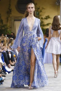 Luisa Beccaria Fashion Show Ready to Wear Collection Spring Summer 2017 in Milan