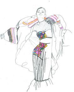 Fashion Illustration Speed Painting with Ink - Drawing On Demand Art And Illustration, Fashion Illustration Sketches, Fashion Sketches, Fashion Drawings, Fashion Poses, Fashion Art, Style Fashion, Trendy Fashion, High Fashion