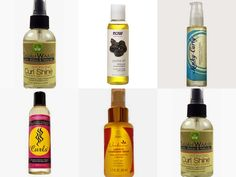 silicone-free finishing serums for natural hair styles