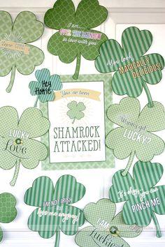 Free Shamrock Attack Printables