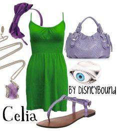 Celia by disneybound