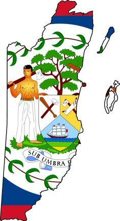 Belizean pride proud to be one.