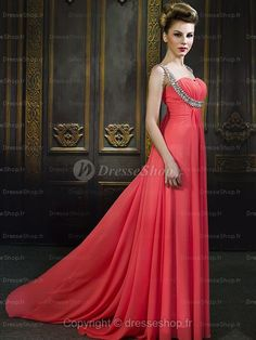 Robe de Bal de Finissants en mousseline de soie avec  prom dresses 2013 Evening Dresses Cocktail Dresses