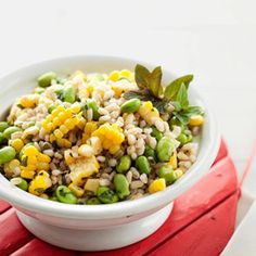 Corn and Barley Salad