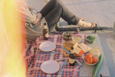 Picnic on the rooftop by Maria of schorlemädchen.
