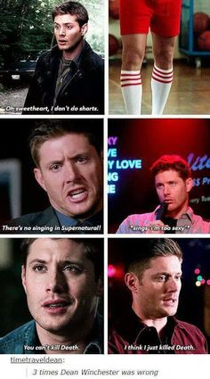 I'M IN CHURCH AND I NEARLY BURST OUT LAUGHING AT DEAN SINGING