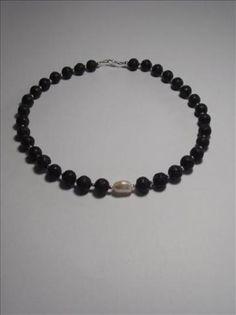 Collar lava perla, kreabisu.com