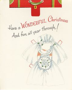 Norcross Paper Doll Christmas Card - (PAGE 5)