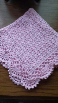 Baby blanket  7 2 15
