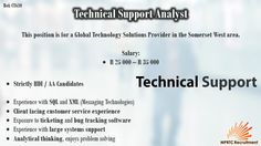 Technical Support Analyst