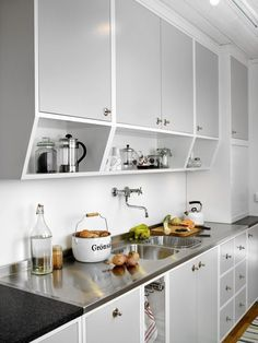 The Untold Story on Home Interior Design Kitchen Jar Organisation That You Really Need - gameofthron 60s Kitchen, Kitchen Jars, Home Decor Kitchen, Interior Design Kitchen, Vintage Kitchen, Home Kitchens, Kitchen Dining, Kitchen Cabinets, Interior Livingroom