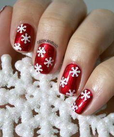Spirit Of The Season. China Glaze Cranberry Splash