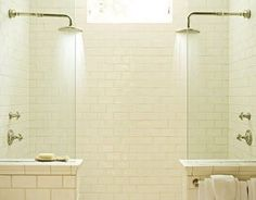 Two person shower... Perfect for the master bath remodel
