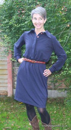 Hot Patterns – Plain & Simple Iconic Shirt Dress