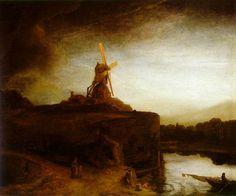 rembrandt landscape
