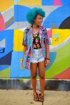 Cabelo afro, tranças, black power e crespos coloridos   Estilo