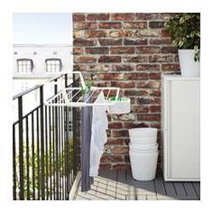 IKEA - ANTONIUS, Tørrestativ, Kan bruges både indendørs og udendørs.UV-beskyttelse sikrer, at plasten holder i længere tid.