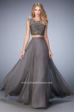 GiGi by La Femme 22929 GiGi Designs by La Femme Gipperprom Prom Dresses 2016 Sherri Hill Jovani Rachel Allan LaFemme